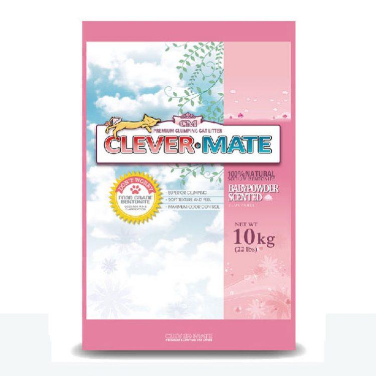 【韓國CleverMate】聰明貓砂 (三種不同味道)