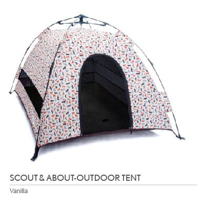 P.L.A.Y. 露營野趣-寵物專用帳篷
